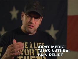 Video of Disable Veteran Discussing Natural Pain Relief